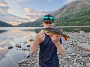Jakub and the colourful Perch